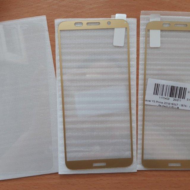 Защитное стекло на Huawei honor 7A