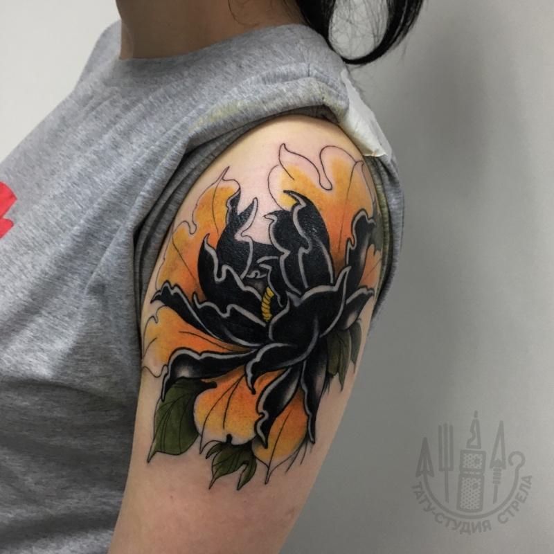 Исправление некачественных татуировок в тату студии «Стрела»