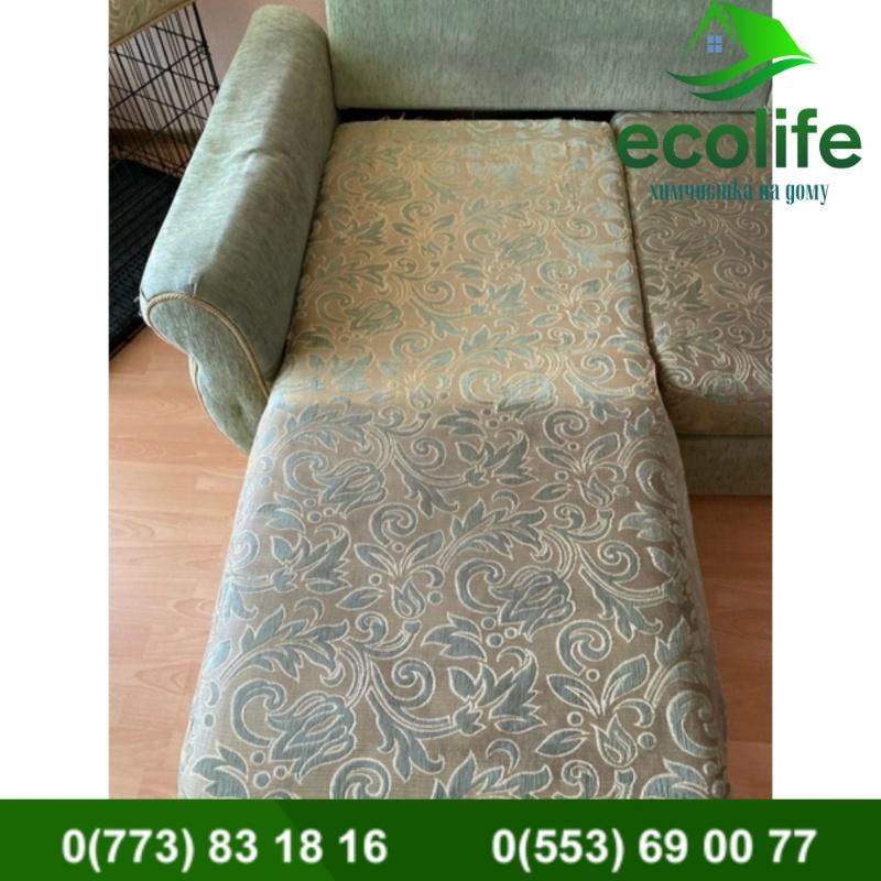Химчистка мягкой мебели от Ecolife-ximchistka
