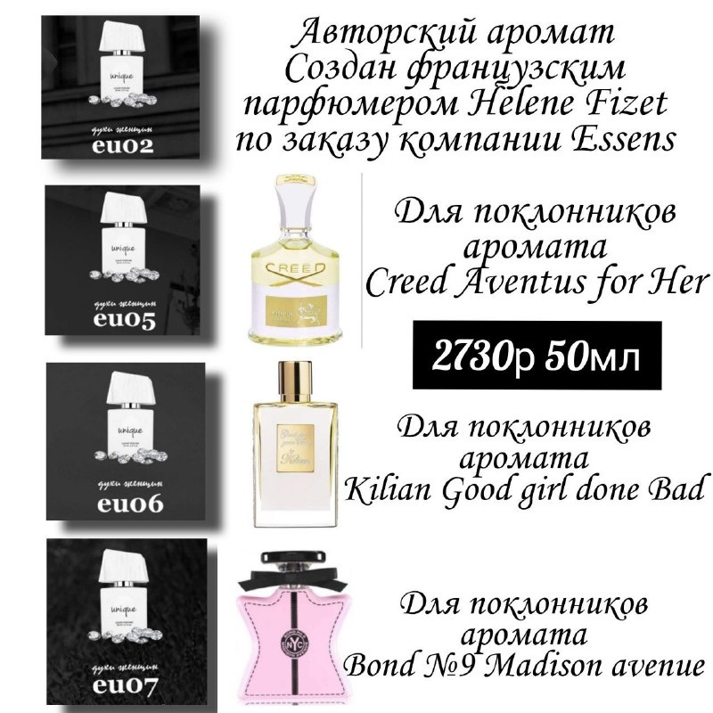 Европейский парфюм с завода изготовителя,