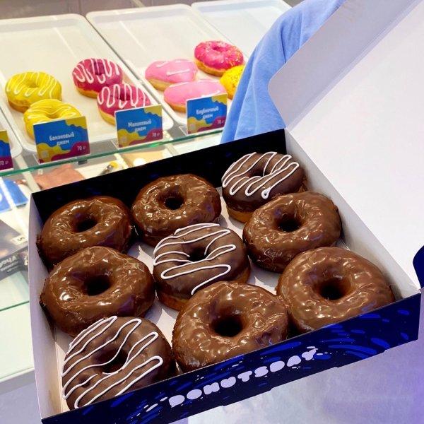 С нашей доставкой жизнь станет сладкой🍩, Donutsday