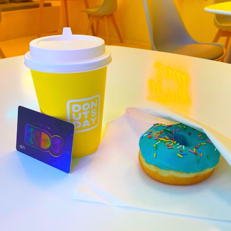 Только для посетителей SREDA KIDS✨, Donutsday