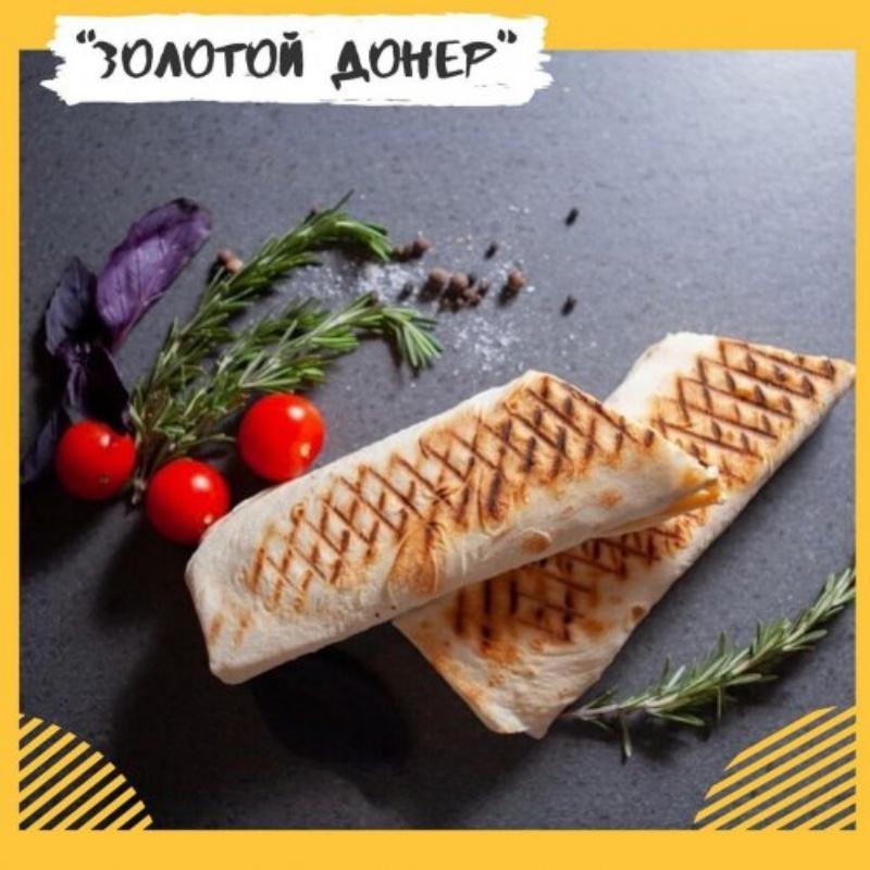 Донер ассорти с сыром., Золотой Донер - 8 микр.