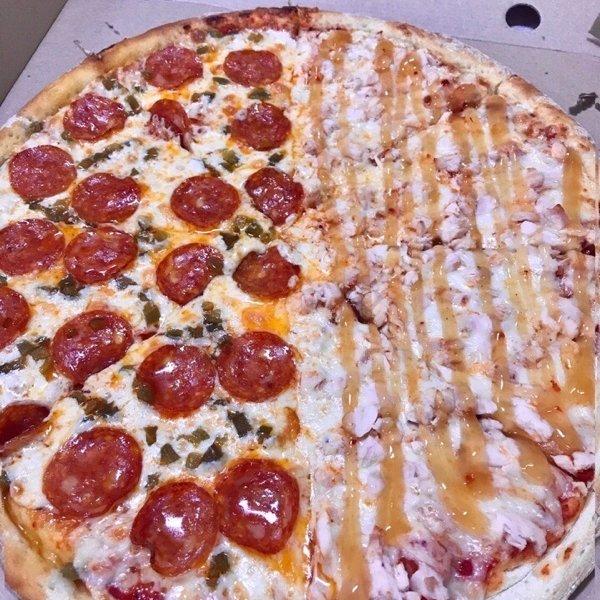 Любите пиццу где МНОГО НАЧИНКИ?😏,
