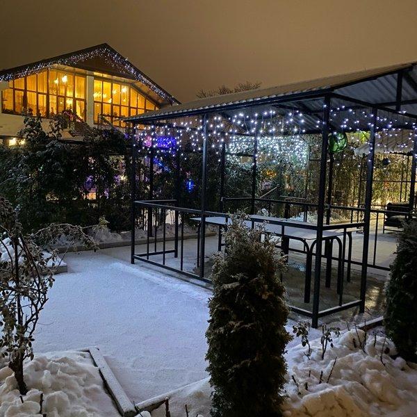 Ресторан «Терраса»-зимняя сказка❄️❄️❄️
