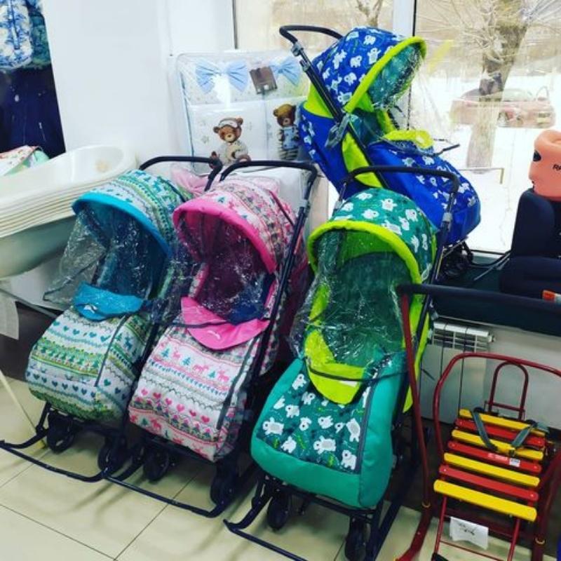 Санки - коляска. Магазин детских товаров Актобе.  Bambi detki Aktobe