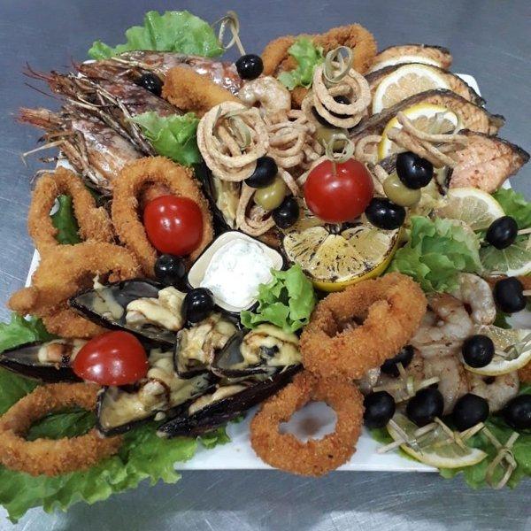 «Терраса»- Рыбное пано к новогоднему столу