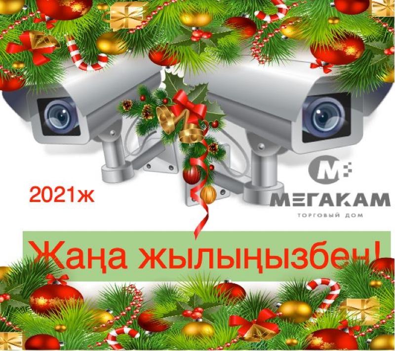 С Новым годом! , Торговый дом Мегакам, Алматы