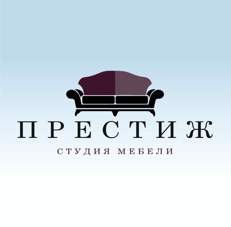логотип компании Студия мебели Престиж.
