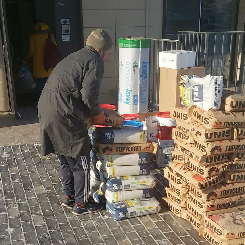 Разгрузка затем подъём стройматериалов в Иркутске!!!