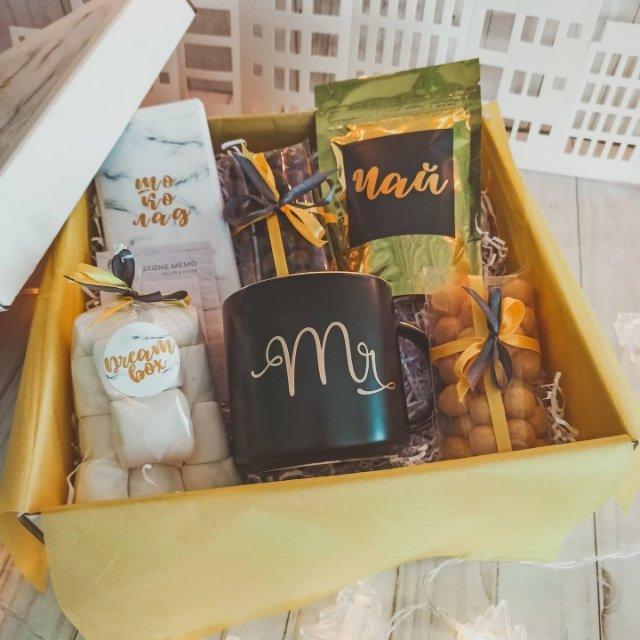 Подарочный набор Мраморный от Dessert box uray