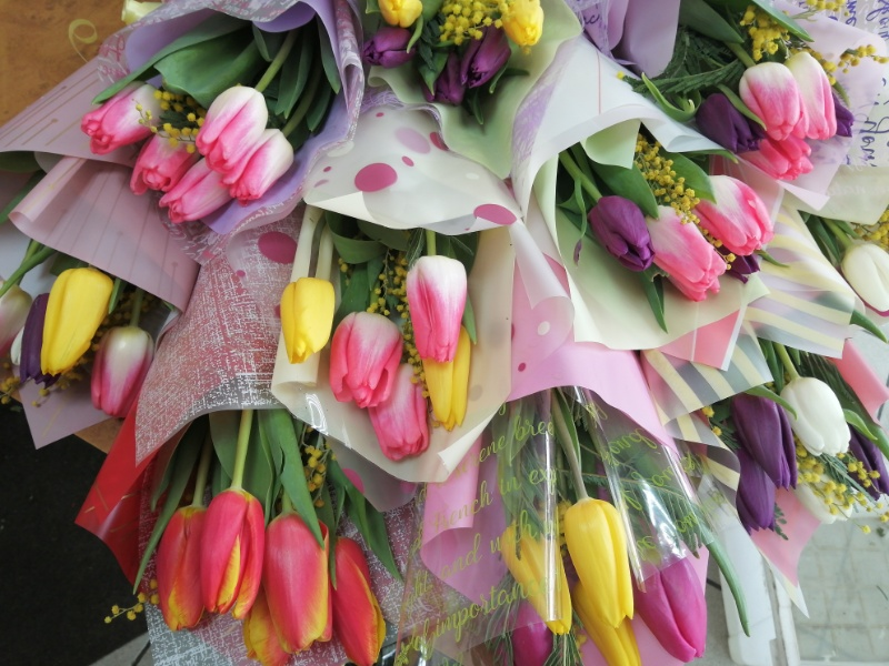 8Марта!!!💐🌷🌼🌹 от Цветы, букеты на заказ Цветочная лавка