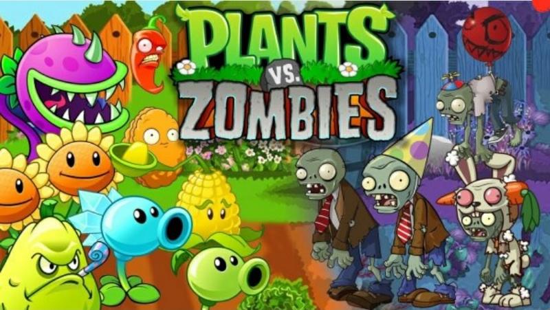 Игра Зомби против Овощей! У нас в приложении!