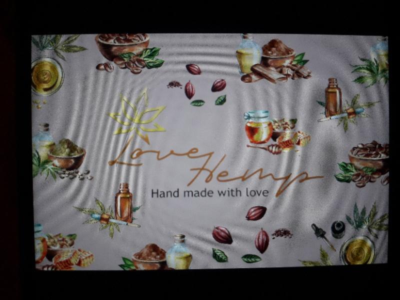 логотип компании Love hemp