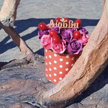 Мыльные букеты,Мыльные розы,Магнитогорск