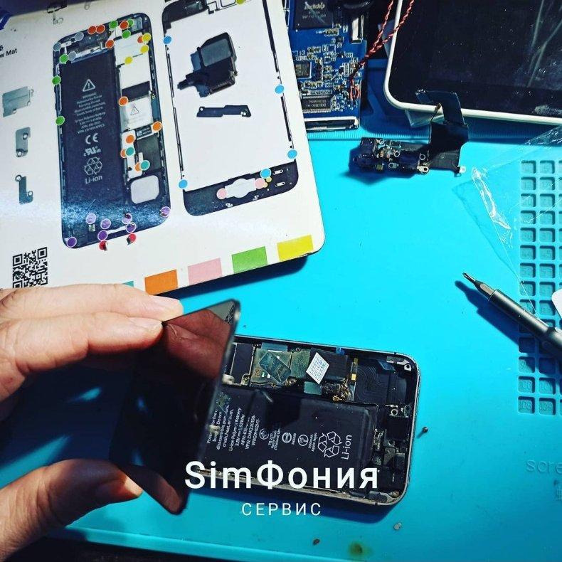 Ремонт телефонов, iPhone, планшетов, ноутбуков, ПК