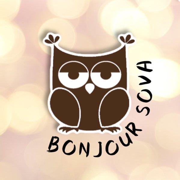логотип компании Бонжур Сова