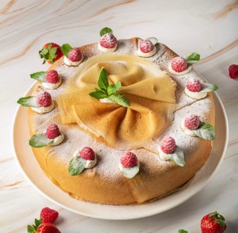 Торт блинный