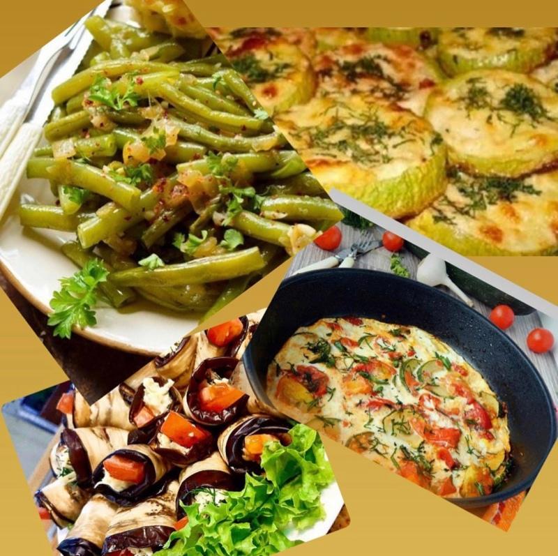 Летнее меню , овощи в разных вариантах к вашему столу🌶🍆🥗🥔!