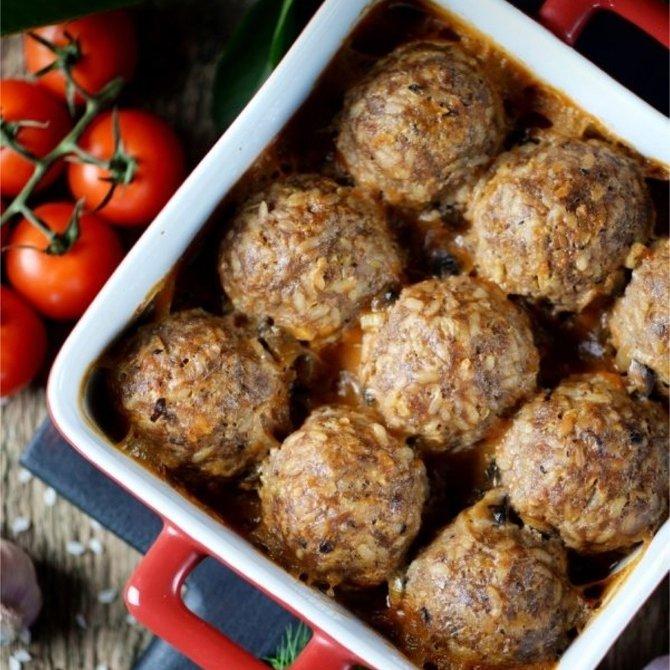 Тефтели из говядины ! Самое легкое и диетическое блюдо , которое подойдёт для всех в такую жару! (100р)