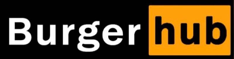 логотип компании Burger HUB
