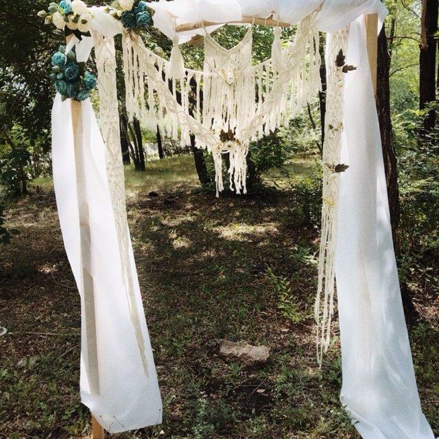 Свадебная арка в стиле Бохо от Boho_Side
