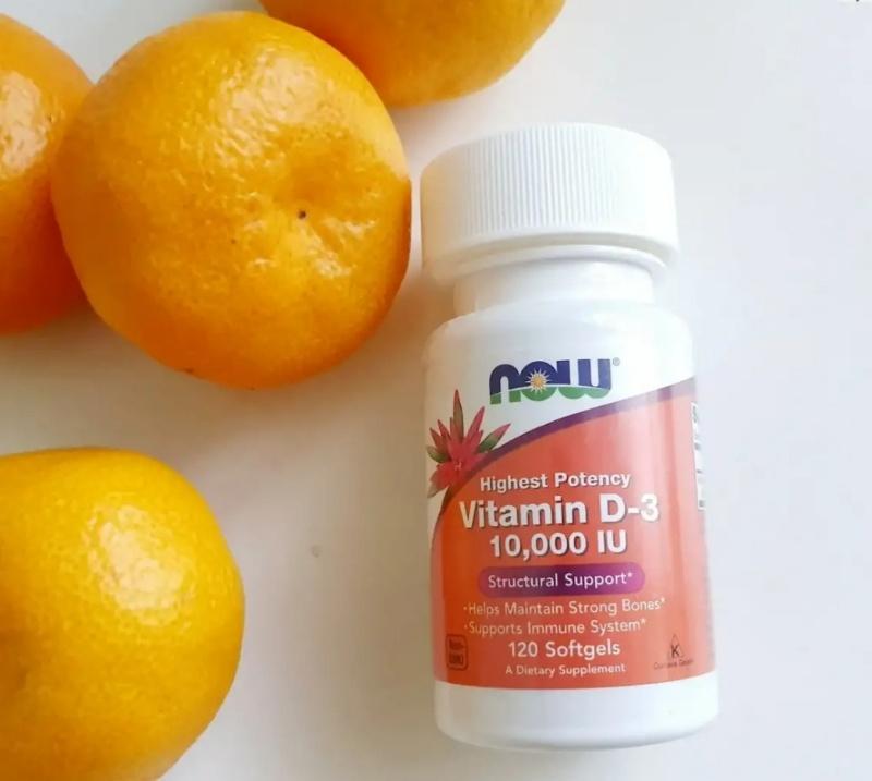Витамин Д3 в дозировке 10.000МЕ