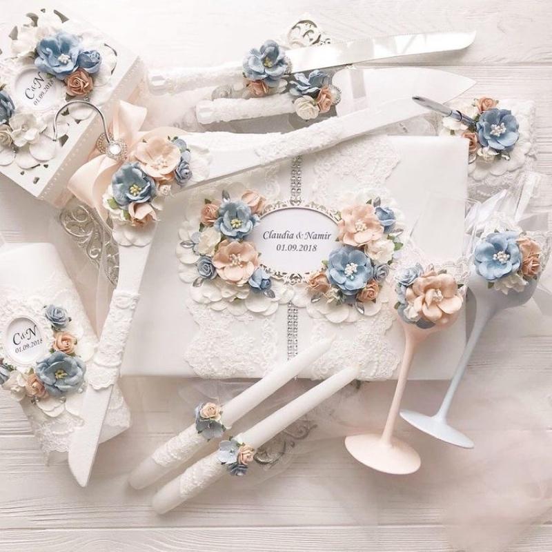 Декор свадебных аксессуаров,Создание эксклюзивного декора для вашей свадьбы,Магнитогорск