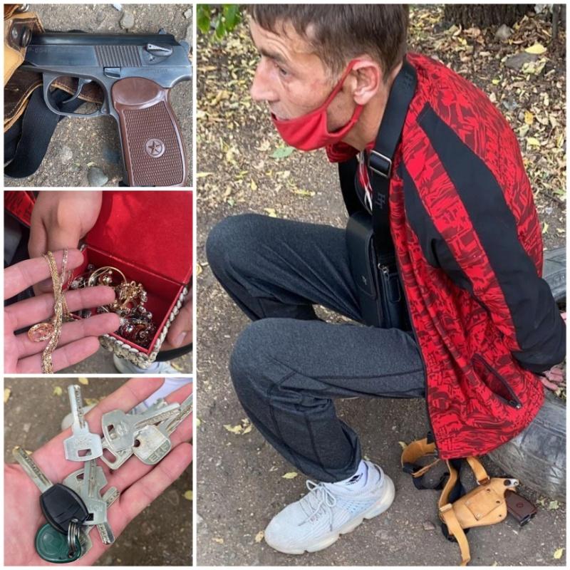 «Домушник - одиночка» с поличным задержан нами в г.Алматы.