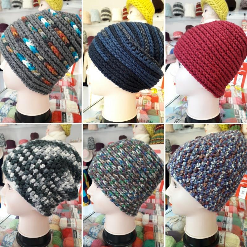 Хороший выбор вязаных шапочек ( сезон осень, зима)
