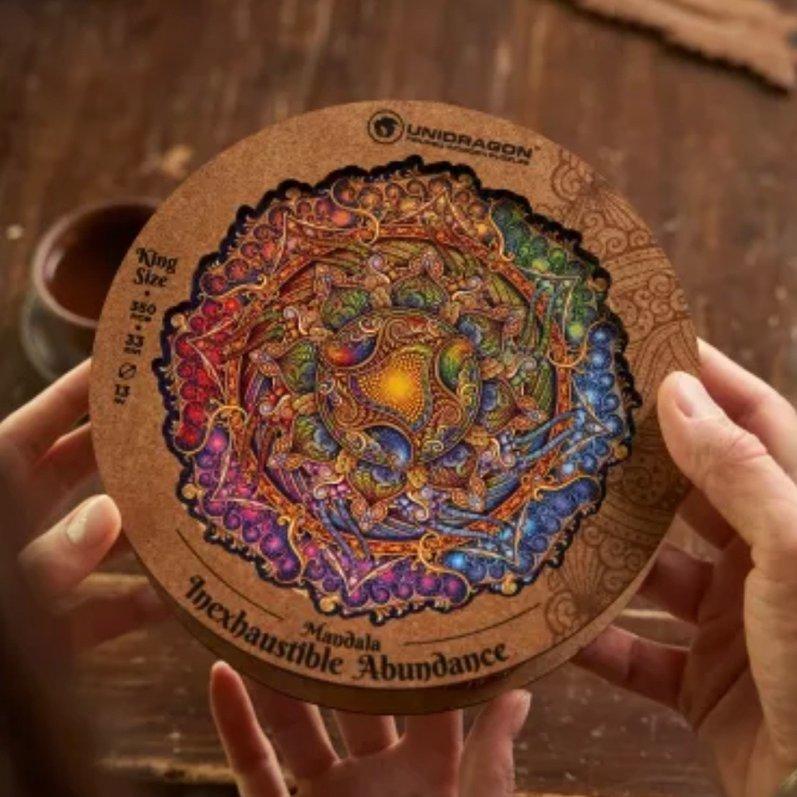 Увлекательные деревянные пазлы!