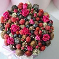 FruttoSmile, магазин фруктовых и цветочных букетов, irkutsk