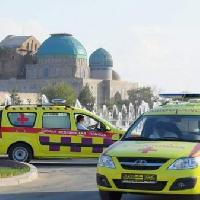 Областная станция скорой медицинской помощи, скорая помощь, turkestan