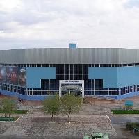 Спортивно-оздоровительный комплекс  г. Сатпаев, 1. Ледовый Дворец «Арена-2005» (2600 мест); 2. Футбольный стадион (2500 мест); 3. Бассейн (700 мест);, jezkazgan