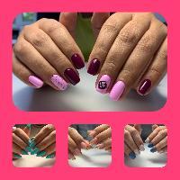 Elena nails, Маникюр, выравнивание ногтевой пластины, покрытие гель лаком, slavyanka