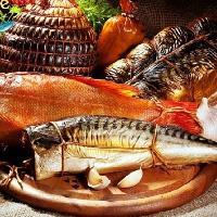 POSEIDON, Рыба горячего копчения, temirtau